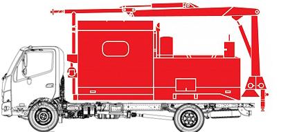 Фургон аварийно-технической службы