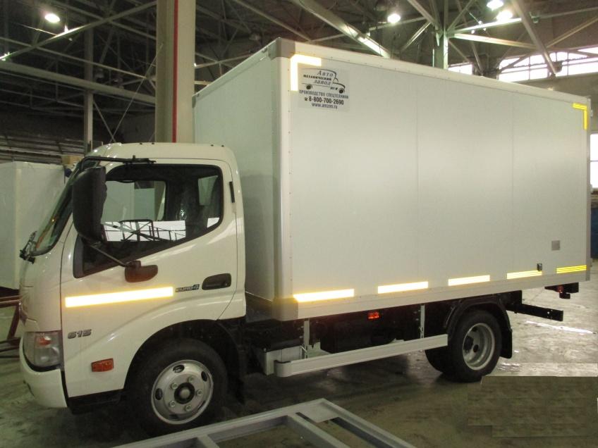 Автомобили  в наличии   Автомобиль-фургон изотермический АМЗ XZU650L-HKMMPW3
