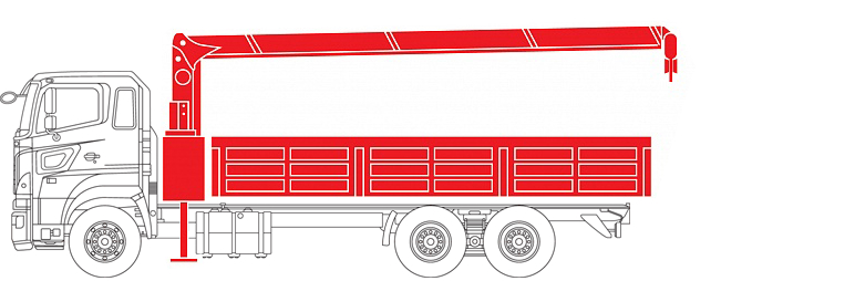 Бортовая платформа + Тросовый КМУ
