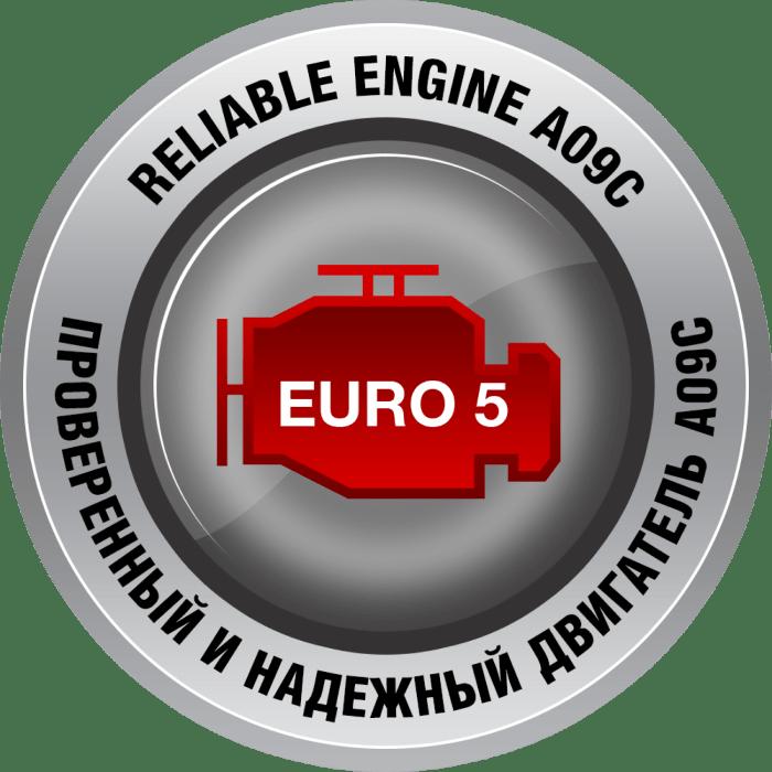 Проверенный и надежный двигатель A09C