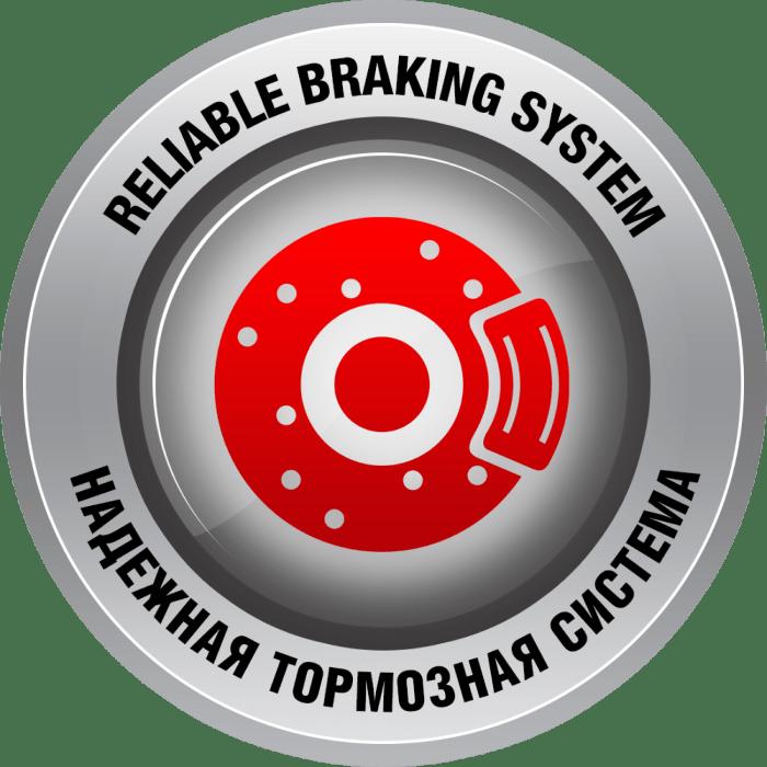 Надежная пневматическая тормозная система