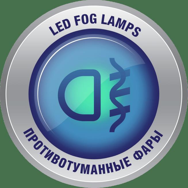 Передние противотуманные светодиодные фары